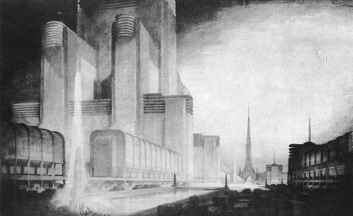 Hugh Ferriss: The Science Center